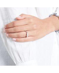 John Lewis - Diamond Collection 18ct White Gold Round Brilliant Diamond Trilogy Engagement Ring - Lyst