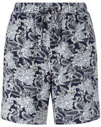 Minimum - Cicilie Paisley Shorts - Lyst