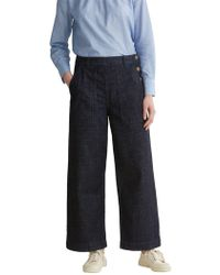 Toast - Denim Cropped Trousers - Lyst