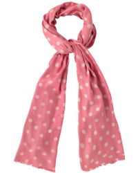 Cath Kidston - Button Spot Scarf - Lyst