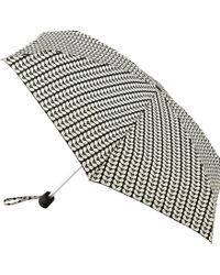 Orla Kiely - Tiny Bi-colour Stem Umbrella - Lyst