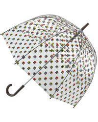 Orla Kiely   Birdcage Floral Umbrella   Lyst