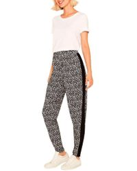 Oasis - Animal Print Trousers - Lyst