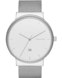 Skagen - Skw6290 Men's Ancher Date Bracelet Strap Watch - Lyst