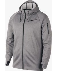 9a486751e0d0 Nike - Therma Sphere Hooded Full Zip Training Jacket - Lyst
