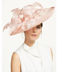 4f294f35 John Lewis and Partners · Peter Bettley - Kate Floral Disc Occasion Hat -  Lyst