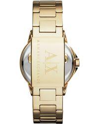 Armani Exchange - Ax4321 Ladies Bracelet Watch - Lyst