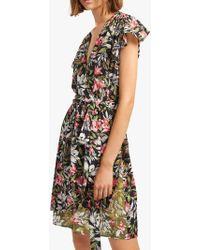French Connection - Floreta Wrap Dress - Lyst
