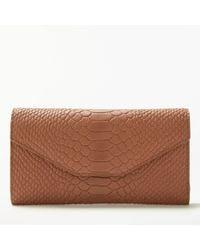 Modern Rarity - Carmenere Leather Wallet - Lyst