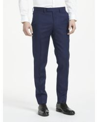 J.Lindeberg - Italian Wool Puppytooth Slim Fit Suit Trousers - Lyst