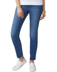 Pure Collection - Cropped Jeans - Lyst