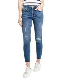 Oasis - Isabella Rip And Repair Jeans - Lyst