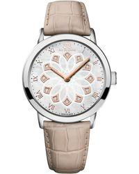 88 Rue Du Rhone - 87wa143502 Women's Double 8 Origin Leather Strap Watch - Lyst