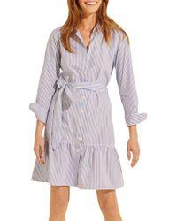 Gerard Darel - Dakota Pinstriped Shirt Dress - Lyst