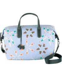 Radley Collectibles Lido Medium Fabric Grab Bag