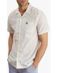 Lyle & Scott Short Sleeve Resort Shirt