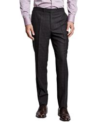 Thomas Pink - Laxford Check Wool Flannel Trousers - Lyst
