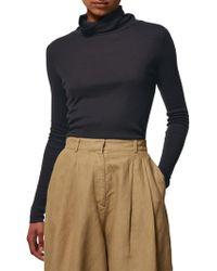 Toast - Fine Wool Tencel Polo Neck Top - Lyst