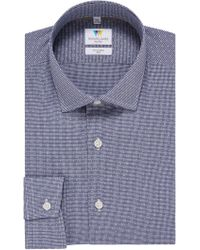 Richard James - Gingham Dobby Slim Fit Shirt - Lyst