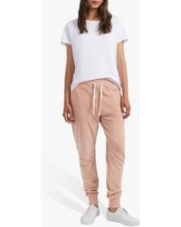 French Connection - Ruthie Cotton Jogger Trousers - Lyst