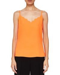 75b86d26232cbb Ted Baker - Siina Scallop Neckline Camisole Top - Lyst