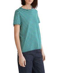 Toast - Striped Linen T-shirt - Lyst