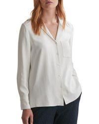 Toast - Herringbone Silk Shirt - Lyst