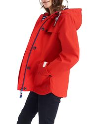Joules - Coast Hooded Jacket - Lyst
