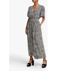 Somerset by Alice Temperley - Leopard Print Jumpsuit - Lyst