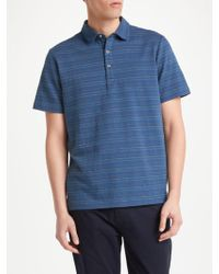 John Lewis - Simon Stripe Polo Shirt - Lyst