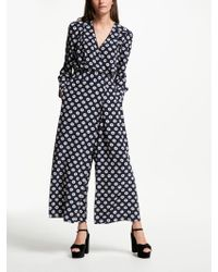 Somerset by Alice Temperley - Banana Spot Jumpsuit - Lyst