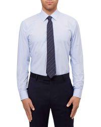 Jaeger - Stripe Slim Fit Shirt - Lyst