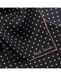 John Lewis - Paul Smith Polka Dot Silk Pocket Square - Lyst
