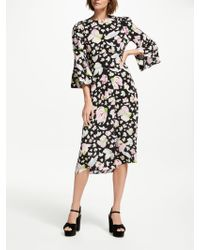 7499c65386dee Somerset By Alice Temperley Knitted Dress in Natural - Lyst