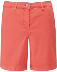 Pure Collection - Washed Cotton Chino Shorts - Lyst