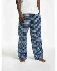 John Lewis - Upton Gingham Pyjama Bottoms - Lyst