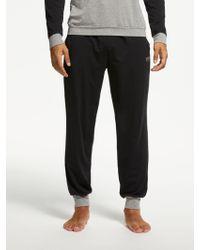 BOSS - Boss Balance Contrast Detail Jersey Pyjama Bottoms - Lyst