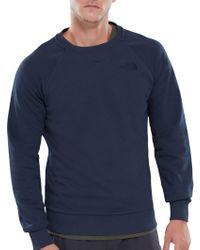 The North Face - Raglan Sleeve Crew Sweatshirt - Lyst