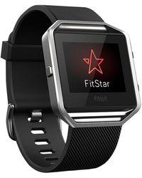 Fitbit - Blaze Wireless Activity And Sleep Tracking Smart Fitness Watch - Lyst