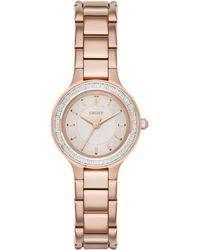 DKNY - Women's Chambers Bracelet Strap Watch - Lyst