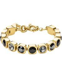 Dyrberg/Kern - Tennis Swarovski Bracelet - Lyst