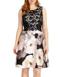 06ccbddfd6 Reiss Abigail - One Shoulder Pleat Detail Maxi Dress - Lyst