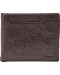 Fossil - Neel Coin Pocket Wallet - Lyst