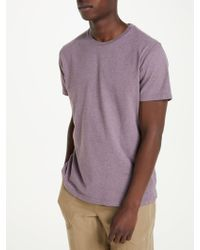 John Lewis - Cotton Marl T-shirt - Lyst