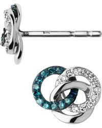 Links of London - Treasured Diamond Stud Earrings - Lyst