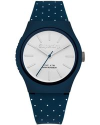 Superdry - Unisex Urban Micro Silicone Strap Watch - Lyst