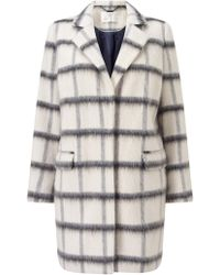 Jacques Vert - Oversized Check Coat - Lyst