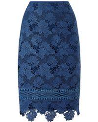 Jacques Vert - Lovely Lace Border Skirt - Lyst