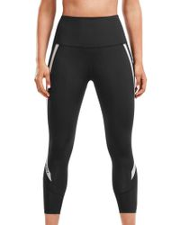 2XU - Reflective Compression High-rise 7/8 Women's Tights - Lyst