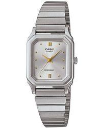 G-Shock - Lq-400d-7aef Women's Stainless Steel Bracelet Strap Watch - Lyst
